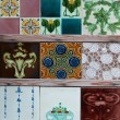 Ancient tiles — Stock Photo