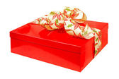Red gift angle — Stock Photo