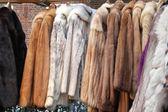 Fur clothing — Stock Photo