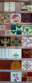 Ancient tiles — Stock Photo