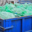 Dumpster recycling — Stock Photo