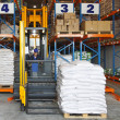 Forklift stacker — Stock Photo #34390637