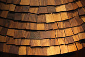Wood shingle — Stock Photo
