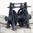 Industrial winch — Stock Photo
