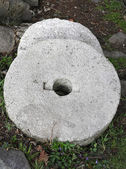 Grinding millstone — Stock Photo