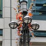 Christmas lamp post — Stock Photo #36344981