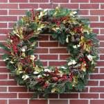 Christmas wreath — Stock Photo #36345117