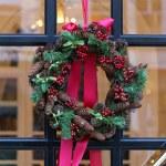 Pinecone wreath — Stock Photo #36345633
