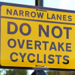 Cyclist sign — Stock Photo #36414529
