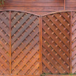 Wooden fencing panels — Stock Photo