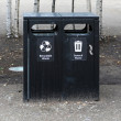 Waste bins — Stock Photo #36677623