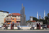 Democracy Square Shkoder — Stock Photo