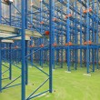 Stock Photo: Shelving system warehouse