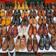 Shoes market — Stock Photo