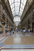 Galleria Vittorio Emanuele Milan — Stock Photo