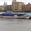 图库照片: Thames Clipper