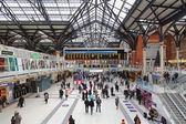 Liverpool station London — Stock Photo