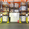 Stock Photo: Automated shelving warehouse
