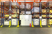 Automated shelving warehouse — Stock Photo