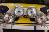 Rally lights — Stock Photo