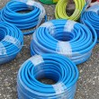 Stock Photo: Blue hoses