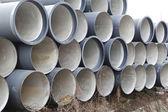 Sewage pipes — Fotografia Stock