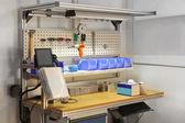 Technician workbench desk — Stockfoto