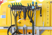 Agricultural sprayer pump — Stock Photo