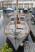 Vintage sail yacht — Stockfoto