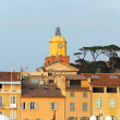 Saint Tropez clock tower — Stock Photo