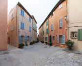 Saint Tropez square — Stock Photo