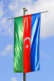 Flag of Azerbaijan — Stock Photo