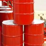 Oil barrels — Stock Photo