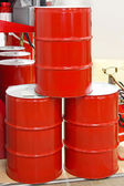 Oil barrels — Foto de Stock