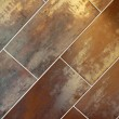 Bronze tiles — Stock Photo