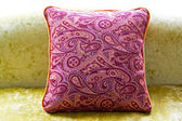 Purple pillow — Stock Photo