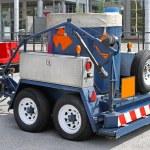 ������, ������: Bomb disposal trailer