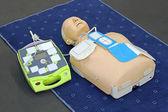 AED dummy — Stock Photo