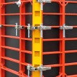 Formwork scaffolding — Stock Photo