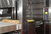 Bread bakery oven — Stock Photo