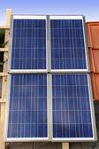 Solar-panel — Stockfoto