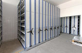 Roller racking system — Stock Photo