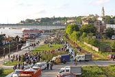 Flood Belgrade — Stock Photo
