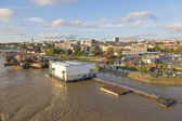 River Sava Belgrade — Stock Photo
