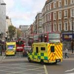 London ambulance — Stock Photo #47370299
