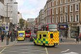 London ambulance — Stock Photo