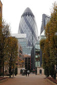 St Mary Axe London — Stock Photo