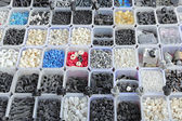 Plastic and rubber parts — Stock Photo