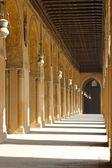 Mosque courtyard corridor — Stock Photo
