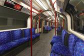 Londons tunnelbana — Stockfoto